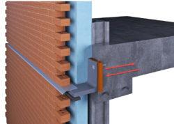 shelf angle thermal break