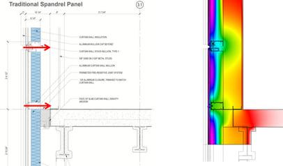 curtain wall attachment