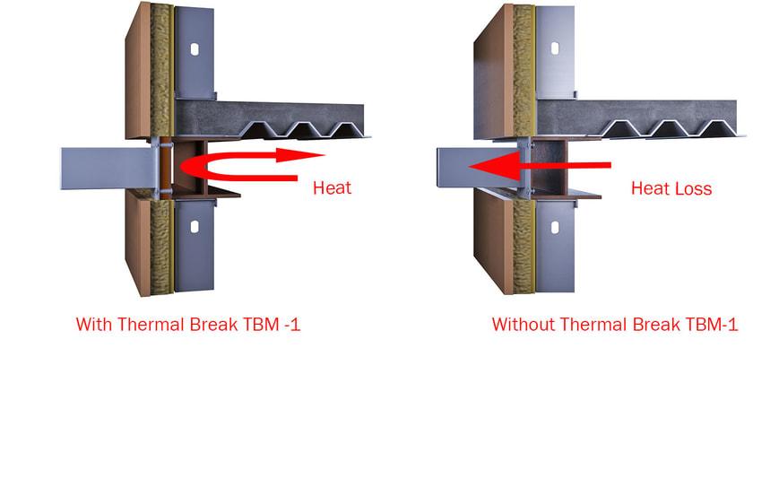 steel connection thermal break